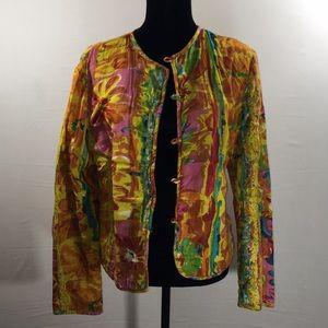 Sandy Starkman Multi-Color Sweater